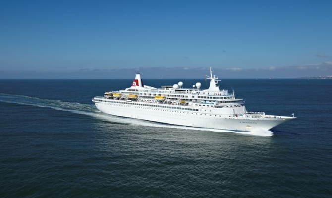 Belfast Harbour Welcomes Back Fred Olsen Cruise Lines Fred - Boudicca cruise ship itinerary