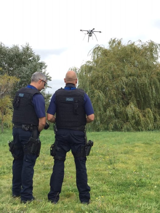 Metropolitan Police have begun an eight-week trial of an aerial drone, to support its policing operations, on Monday, 11 September.