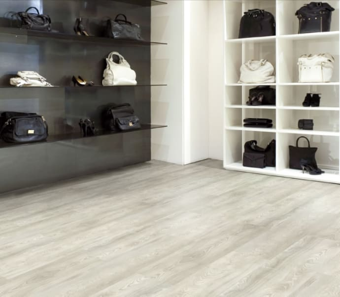 White Oak Light Design ~ High End Resilient Flooring - Evorich Flooring
