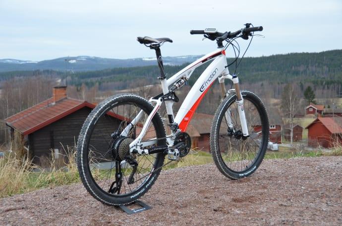 mountainbike elcykel