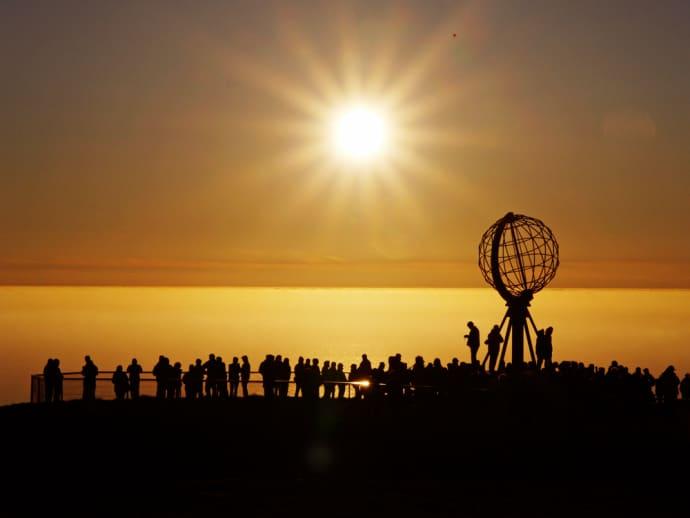 solen i norge