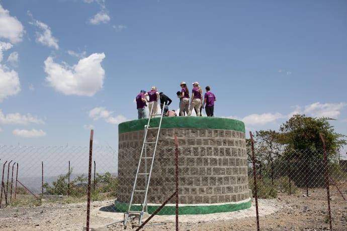 land uten rent drikke vann