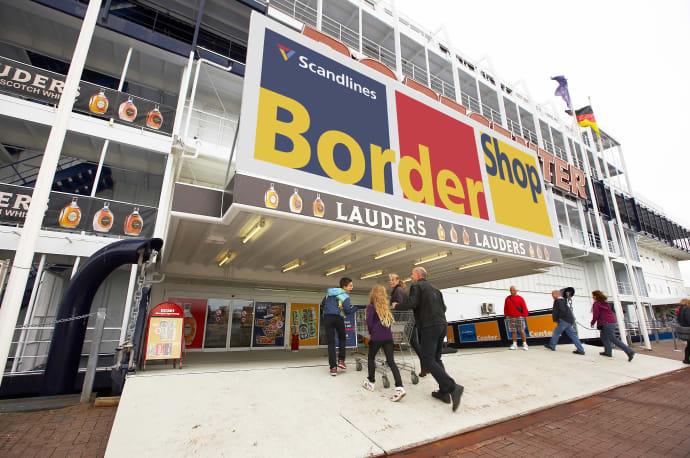 bordershop grænsen