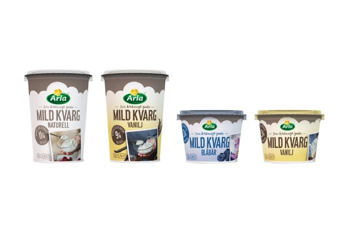arla mild kvarg vanilj