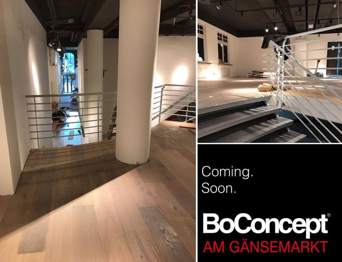 Möbel Boconcept boconcept eröffnet neuen möbel store direkt in hamburg am gänsemarkt