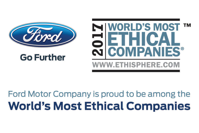 Ford - Worlds most ethical company