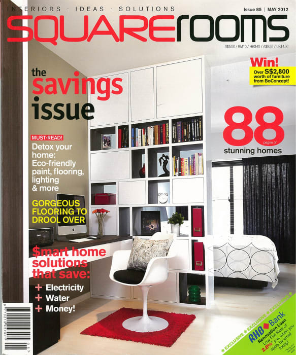 This Month On Squarerooms, One Of The Most Popular Interior Design And Home Decor  Magazines In Singapore And South East Asia, Featured Great Tips And Design  ...