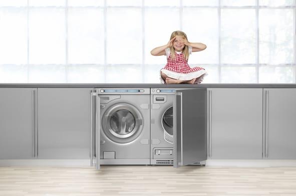 vaskemaskine med indbygget tørretumbler