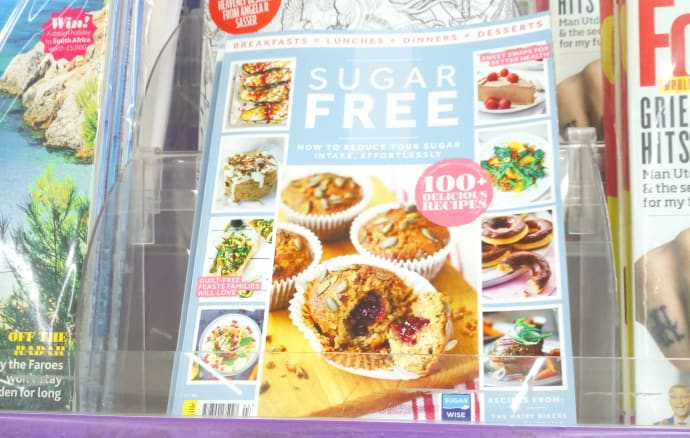 First sugarwise certified recipe book launches in tesco sugarwise the first sugarwise certified recipe book hits the shelves on 28th july forumfinder Image collections
