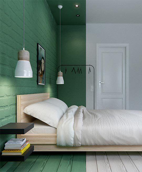 Grön interior, Apartment Therapy - Happy Homes