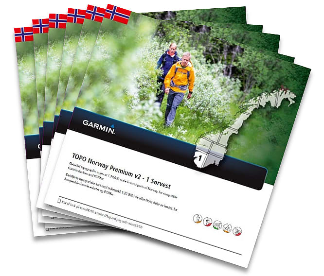Garmin Topo Norway Premium Revbabl