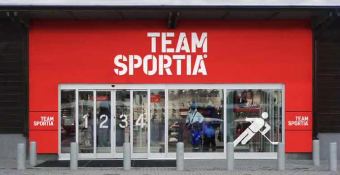 outlet team sportia kristianstad