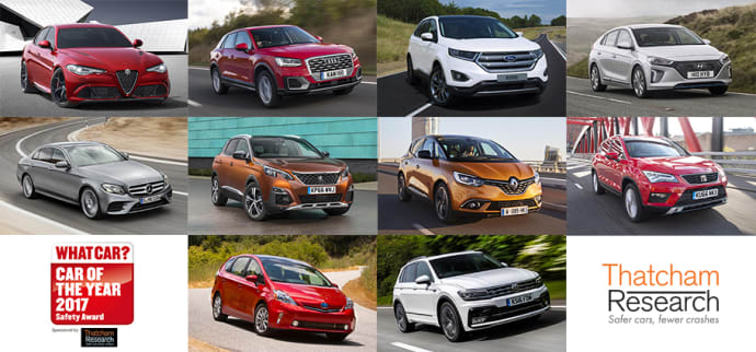 new car releases in ukSafest cars in UK for 2017 announced  Thatcham Research