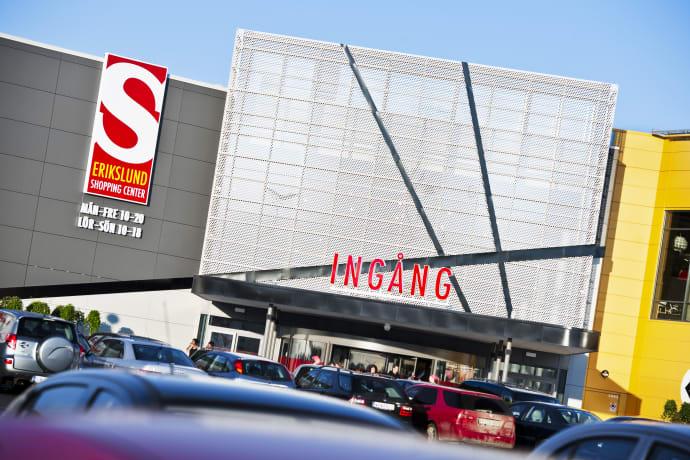 öppettider erikslunds shoppingcenter