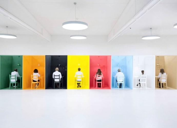 eksperimenter med farger