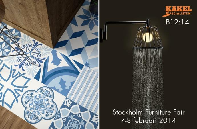 kakel + mönster på Stockholm Furniture Fair - Kakelspecialisten i ...
