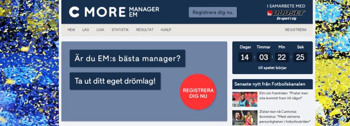 cmore em manager
