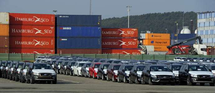 Port Of Gothenburg New Export Port For Volvo Cars To Russia And