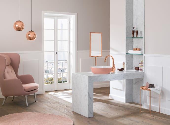 Farbe im Bad: Ob sanft oder stark – Hauptsache ausdrucksvoll und ...
