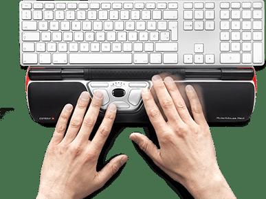 ergonomisk mus og tastatur