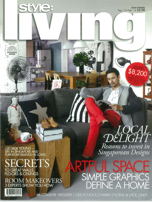 evorich flooring featured on mediacorp s style living magazine