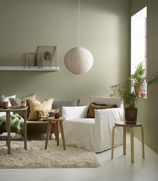 matt eller silkematt vegg