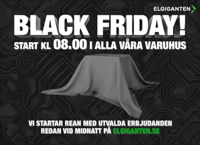 black fredag elgiganten