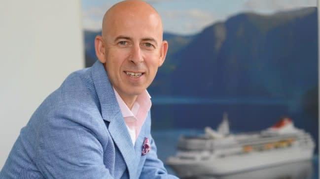 Peter Deer confirmed as Fred. Olsen Cruise Lines' new Managing Director