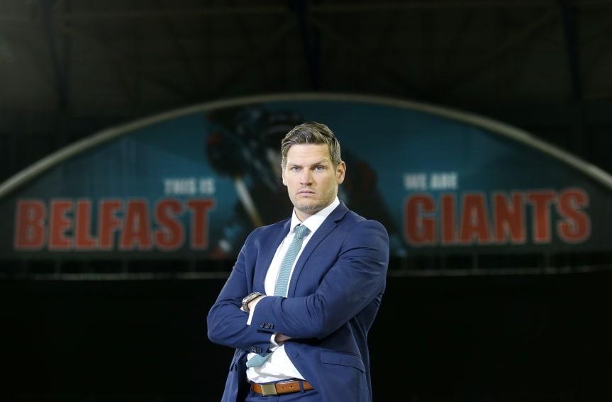 UK: Keefe Appointed Stena Line Belfast Giants Head Coach