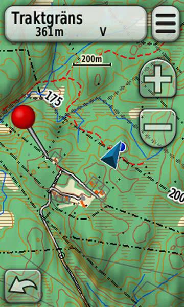 Karta Sverige Hojdkurvor.Friluftskartan Prime V2 Garmins Mest Exklusiva Topografiska Karta