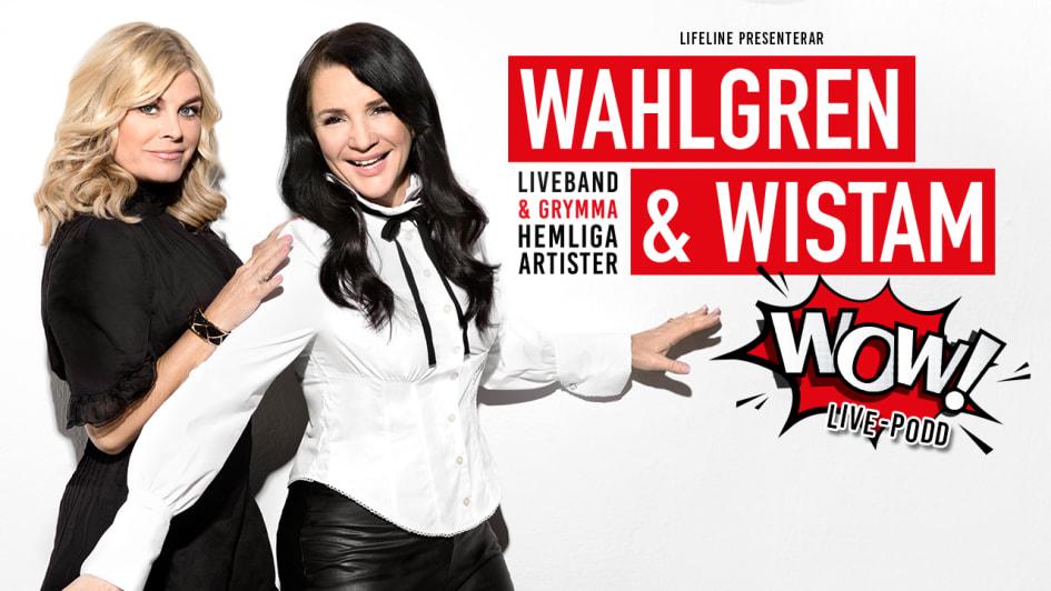 Wahlgren Wistam Firar 200e Avsnitt Med Wow En Livepodd Lifeline