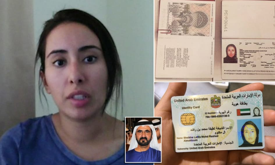 "Unfolding mystery of ""Runaway Dubai Princess"