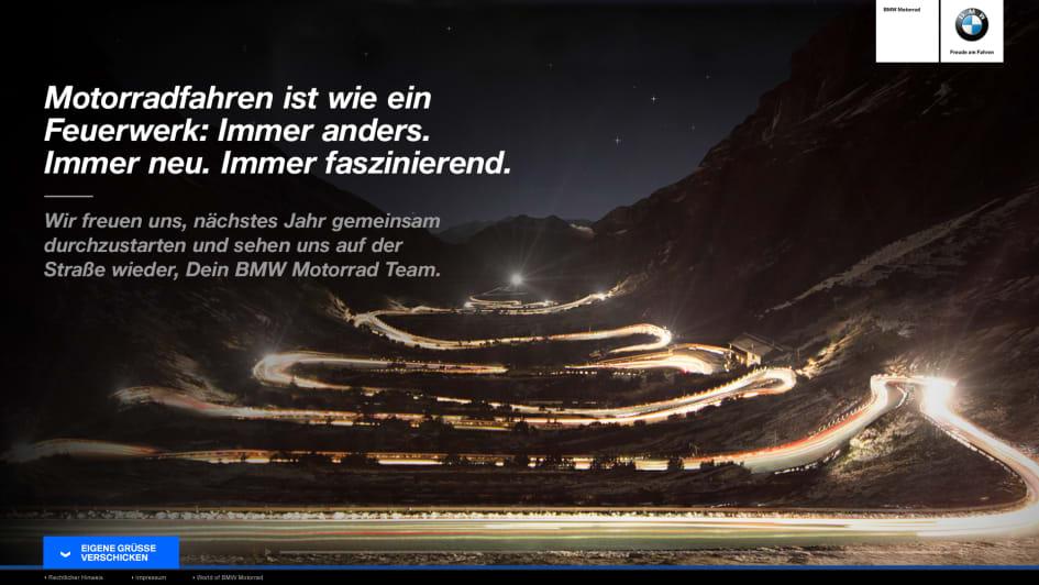 Weihnachtsgrüße Aus Berlin.Syzygy Kreiert Außergewöhnliche Weihnachtsgrüße Für Bmw Motorrad