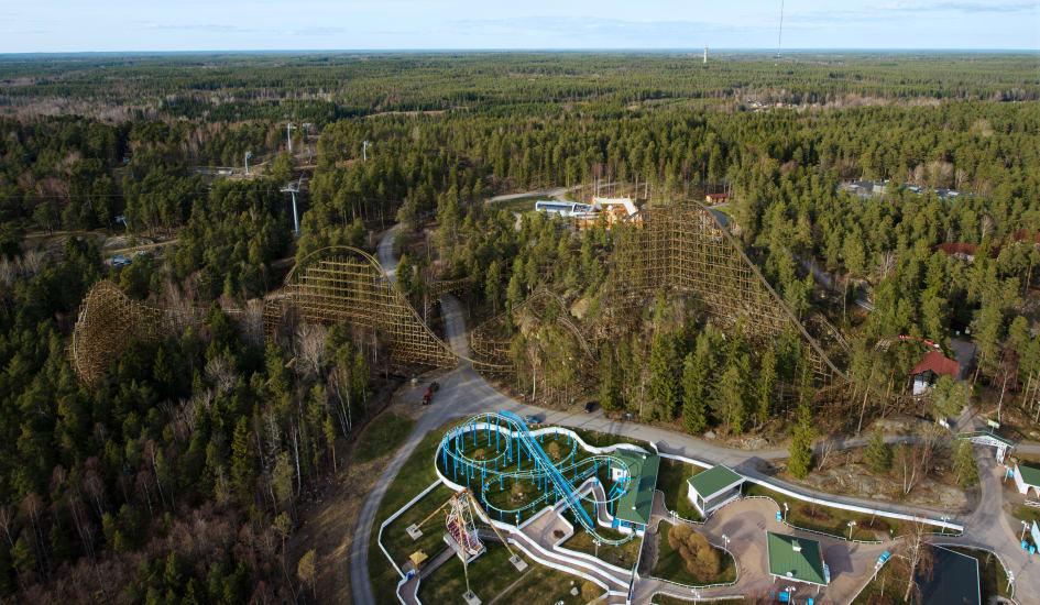 Kolmården Builds The Worlds Best Wooden Roller Coaster Parks And