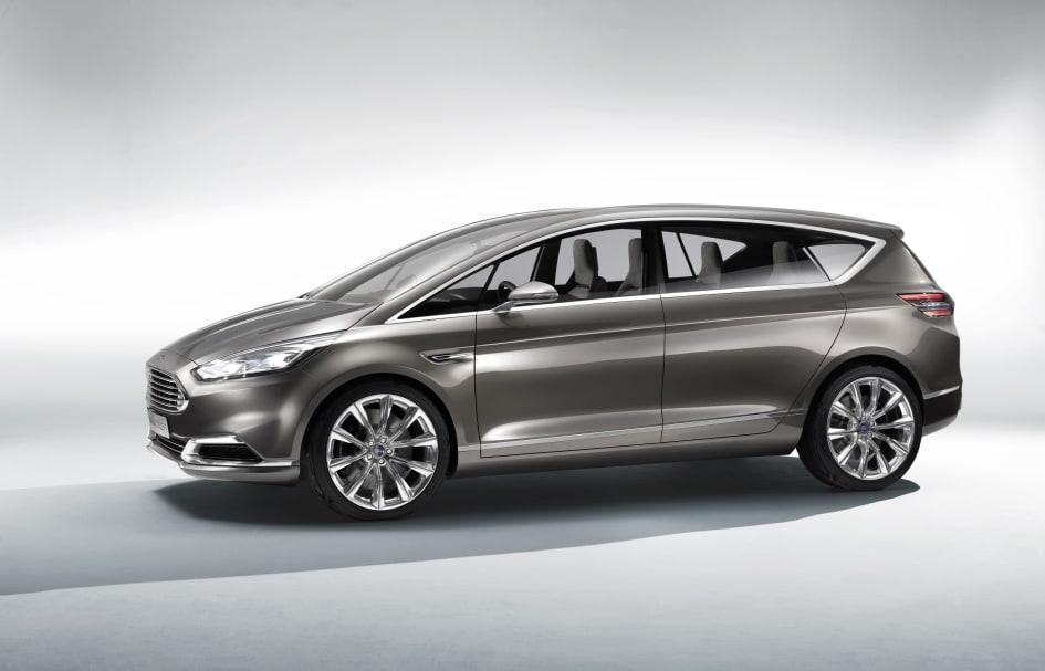 S Max Vignale >> Ford Esittelee Uudet S Max Ja Mondeo Vignale Konseptimallit