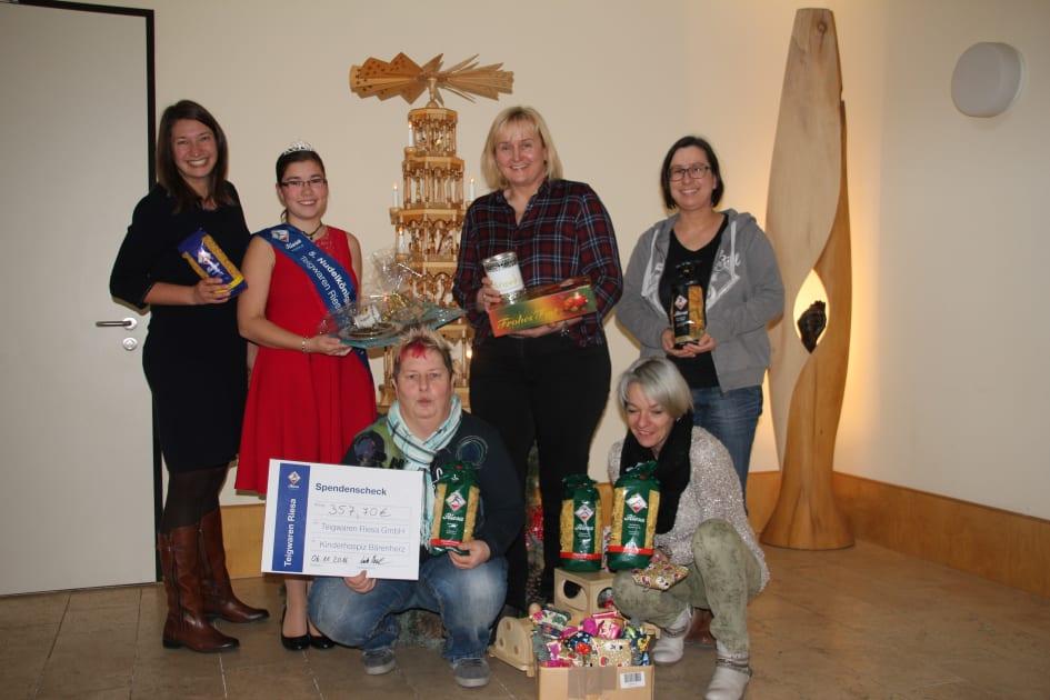 Weihnachtsgeschenke und Spenden für Bärenherz - Wir sagen Danke ...