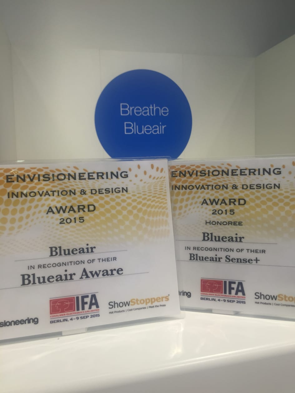 Blueair Wins Two Prestigious International Innovation And