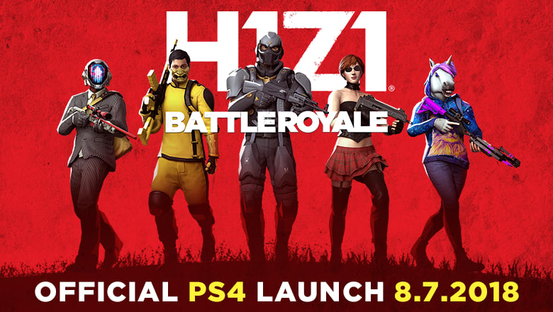 H1Z1: Battle Royale on PS4 Debuts Brand New Launch Trailer