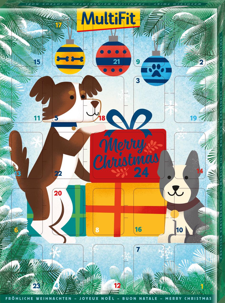 Weihnachtskalender Hund.Multifit Adventskalender Hund Fressnapf Holding Se