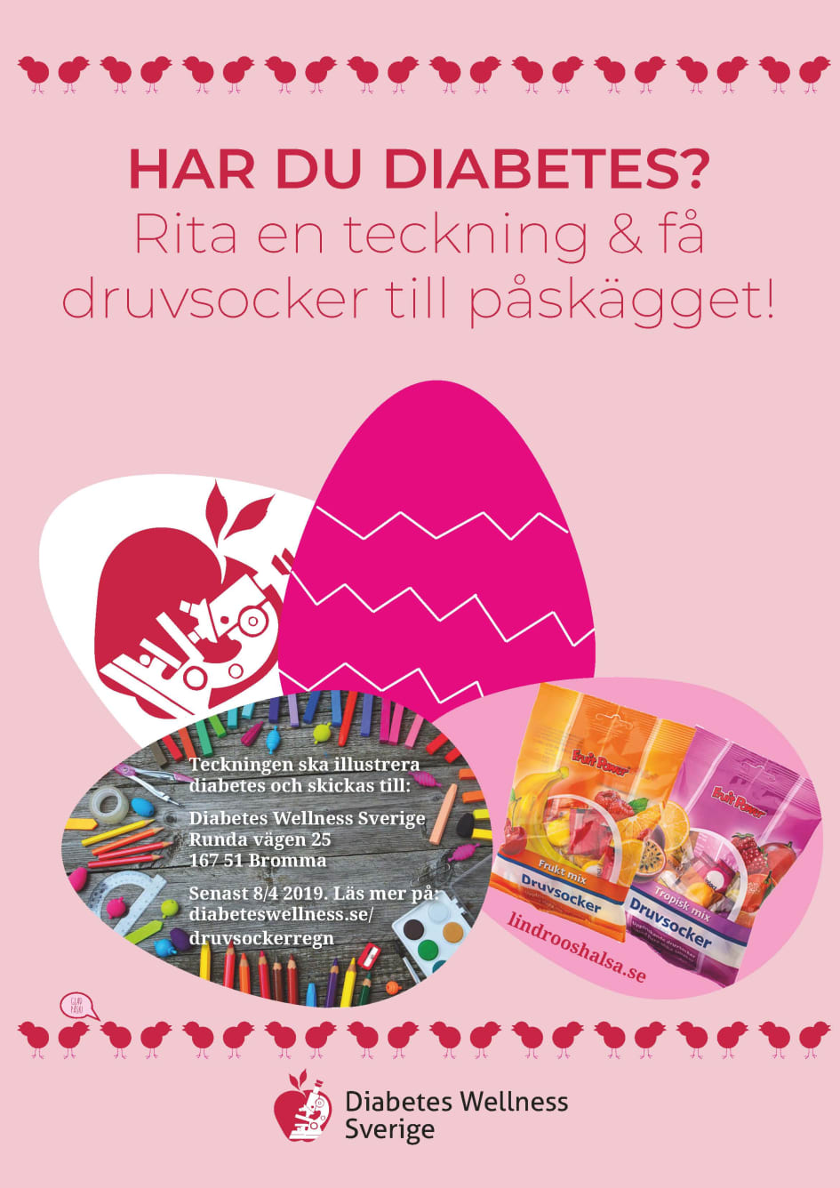 Druvsockerregn Diabetes Wellness Sverige