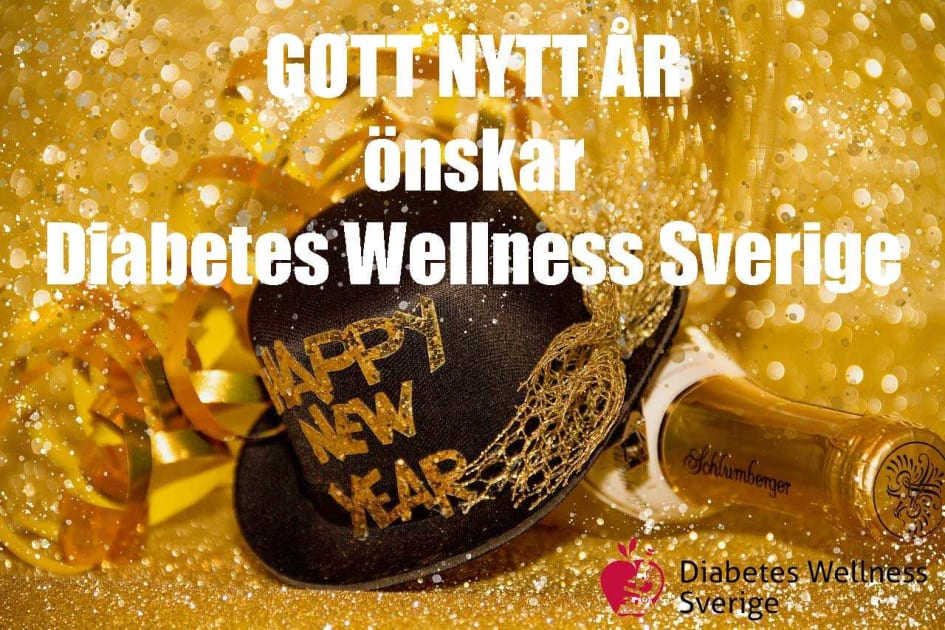 Gott Nytt år önskar Vi På Diabetes Wellness Sverige Diabetes