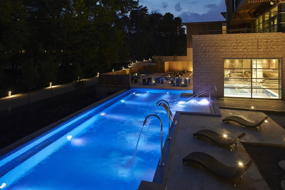The New Aqua Sana Spa At Center Parcs Woburn Forest Which Opened To Day Guests In July Has Been Awarded Five Bubbles Rating By Good Guide