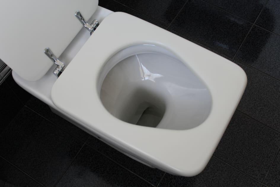 rengöra toalett avlagringar