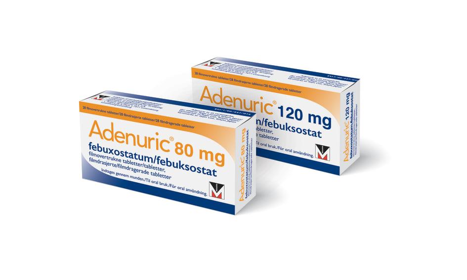tabletter mot gikt