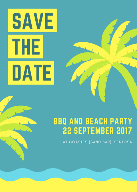 bbq and beach party save the date 22 september 2017 norwegian
