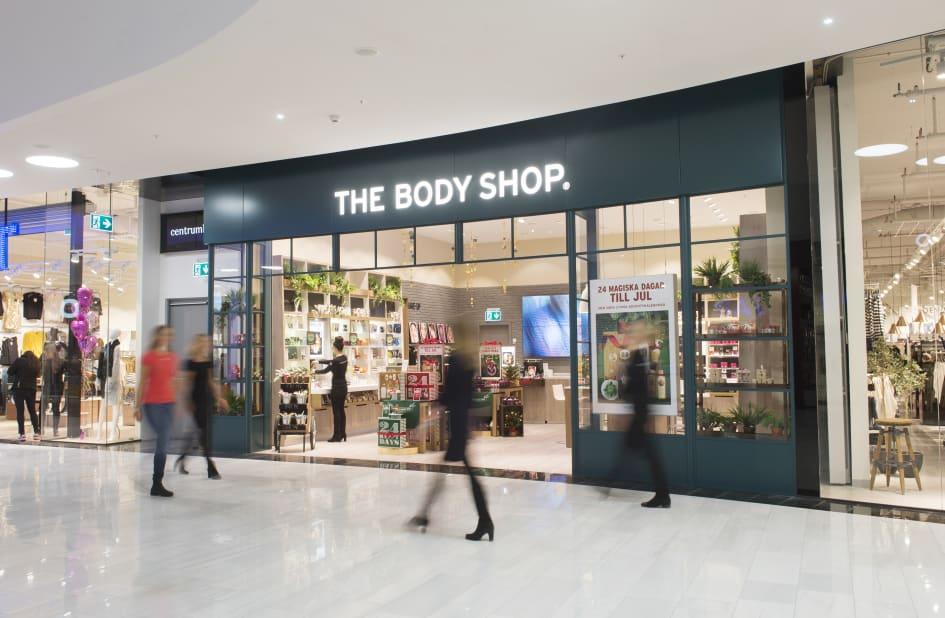 body shop mall of scandinavia