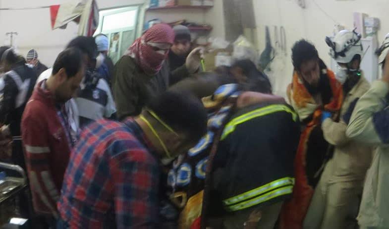 Sex personer dodades i syrien