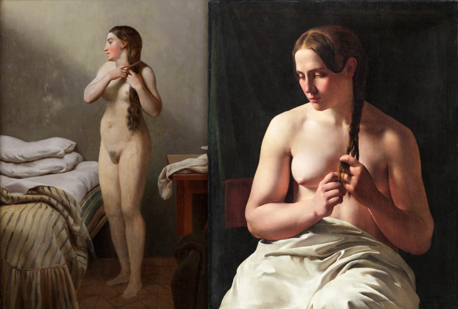 Idea Naked men and women painted gold opinion you