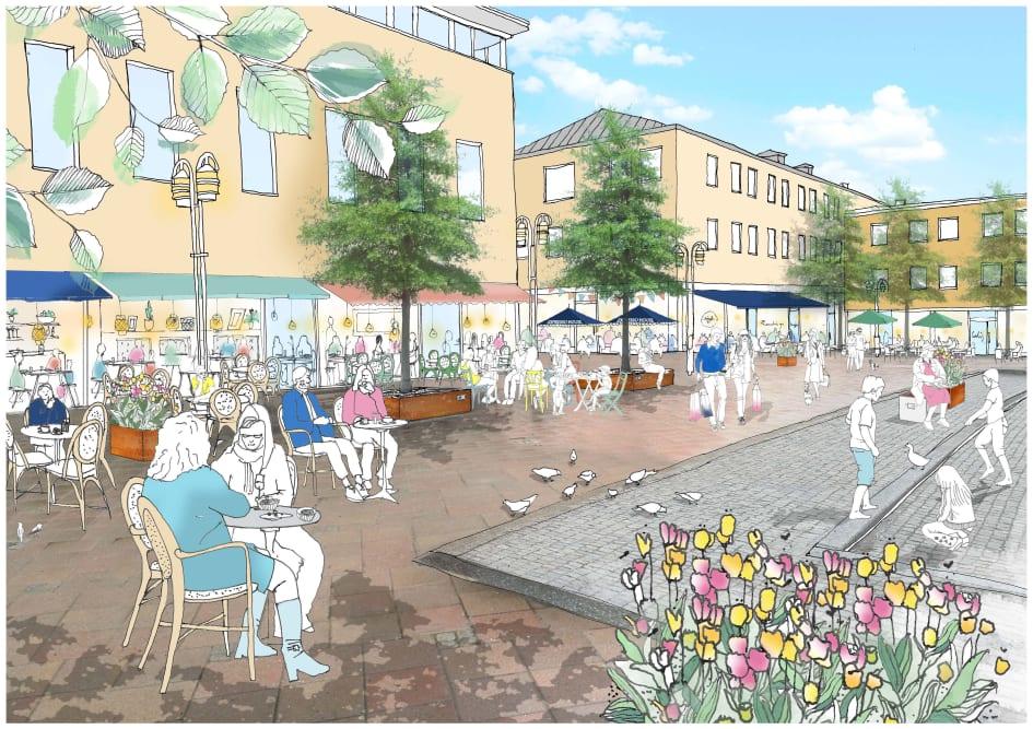 39ca73482f7 Stora planer för Härnösands stadskärna - Härnösands Kommun