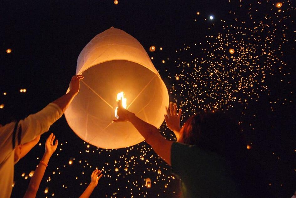 ljuslyktor till nyår